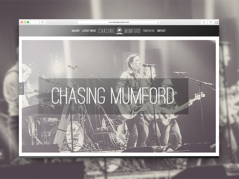 Chasing Mumford Tribute Band Website Link