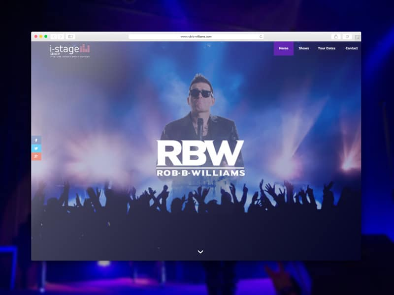 Rob-B-Williams A Robbie Williams Tribute Website Link