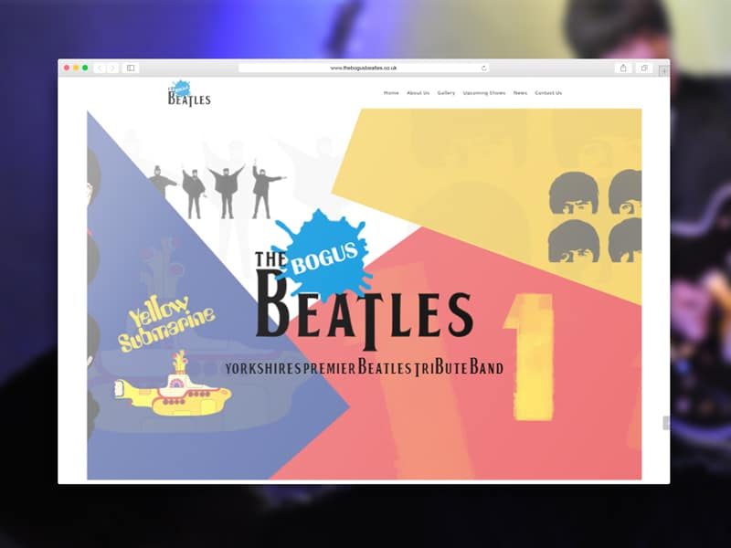 The Bogus Beatles A Beatles Tribute Band Website Link